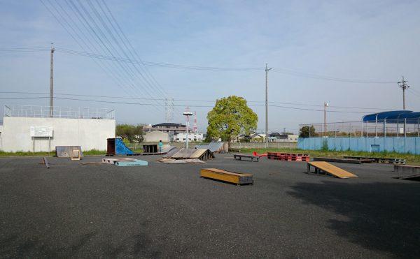 津島東公園スケートパーク