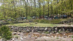 マキノ高原キャンプ場 林間サイト