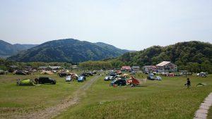 マキノ高原キャンプ場 高原サイト