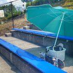 夏の中津川スケートパーク 暑さ対策
