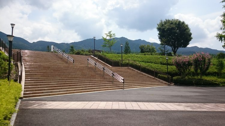中津川スケートパークは帰りが辛い