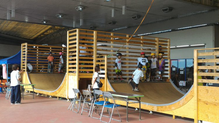 Nara Snowboard Club ミニランプ
