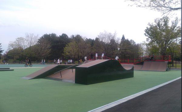 庄内緑地公園スケートパークセクション