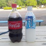 コーラ&カルピス凍結ボトル