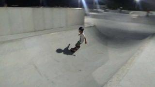 松坂スケートパークのダービーセクション