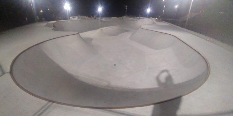 松坂スケートパークのボウル